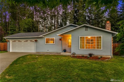 Bothell Single Family Home For Sale: 2320 164th Place SE