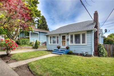 Seattle Single Family Home For Sale: 7726 19th Ave NW