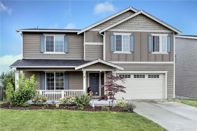 Spanaway Single Family Home For Sale: 1923 187th St Ct E