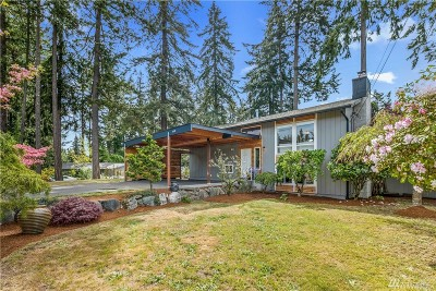 Lynnwood Single Family Home For Sale: 6610 164th St SW