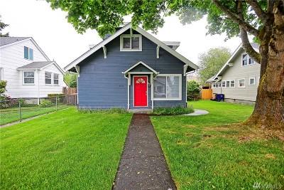Tacoma Single Family Home For Sale: 3631 S Sheridan Ave