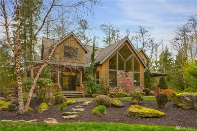 North Bend WA Single Family Home For Sale: $2,099,000