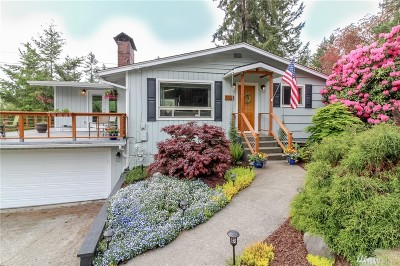 Gig Harbor Single Family Home For Sale: 3720 Vernhardson St