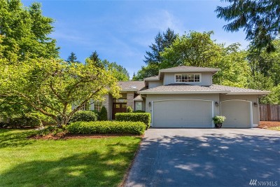 Woodinville Single Family Home For Sale: 23719 NE 170th St