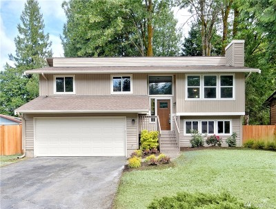 Bothell Single Family Home For Sale: 17821 25th Dr SE
