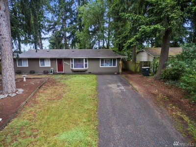 Olympia Single Family Home For Sale: 8906 Quinault Dr NE