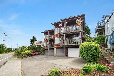 Renton Condo/Townhouse For Sale: 3302 Lake Washington Blvd N #4
