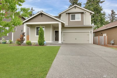 Spanaway Single Family Home For Sale: 18428 18th Ave E