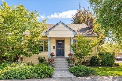 Seattle Single Family Home For Sale: 1717 NW 67th St