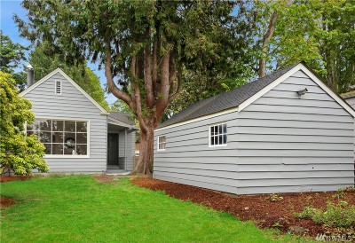 Seattle Single Family Home For Sale: 7430 California Ave SW
