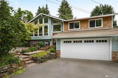 Kirkland Single Family Home For Sale: 12805 NE 113th St