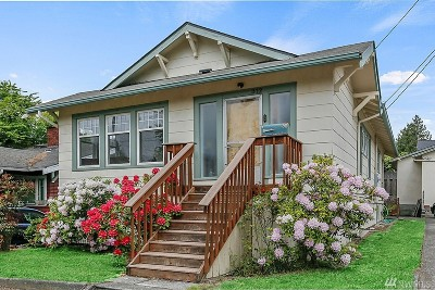 Seattle Single Family Home For Sale: 312 NW 73rd St