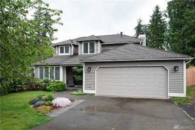 Renton Single Family Home Contingent: 18012 158th Place SE