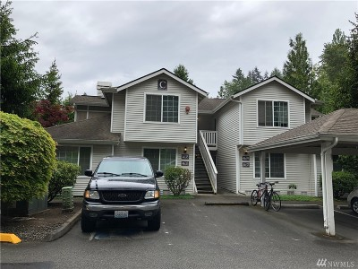Redmond Condo/Townhouse For Sale: 4639 168th Ct NE