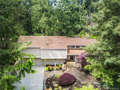 Sammamish Single Family Home For Sale: 3327 Sahalee Dr W
