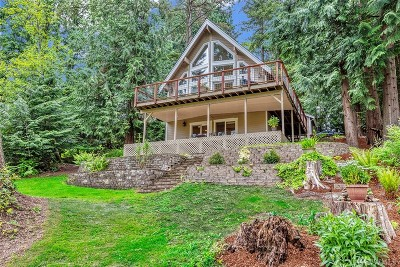 Snohomish Single Family Home For Sale: 21702 E Lost Lake Rd
