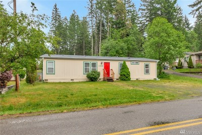 Belfair WA Single Family Home For Sale: $185,000