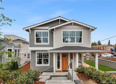 Kirkland Single Family Home For Sale: 611 1st St