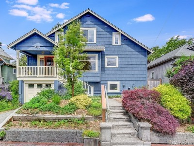 Seattle Single Family Home For Sale: 740 N 82nd St
