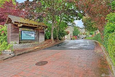Shoreline Condo/Townhouse For Sale: 18100 15th Ave NE #C119