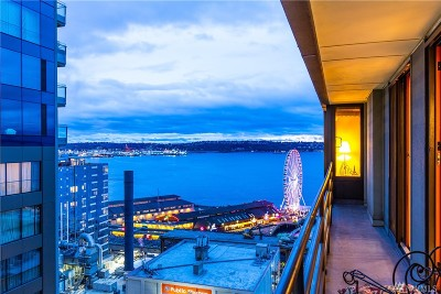 Seattle Condo/Townhouse For Sale: 98 Union St #1108