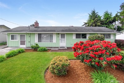 Tacoma Single Family Home For Sale: 868 134th St Ct S