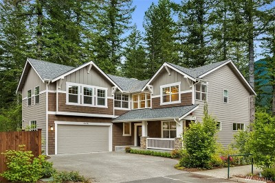 North Bend WA Single Family Home For Sale: $949,000