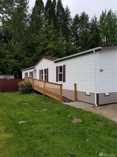 Sedro Woolley Mobile Home For Sale: 700 N Reed St #16
