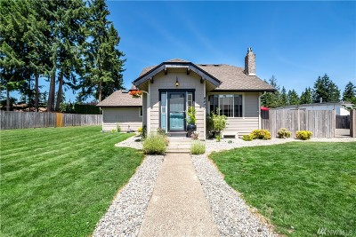 Spanaway Single Family Home For Sale: 8401 192nd St E