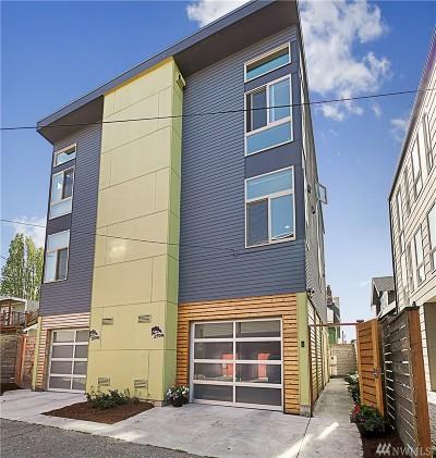Seattle Single Family Home For Sale: 4724 8th Ave NE #NE