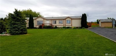 Moses Lake WA Single Family Home Contingent: $207,000