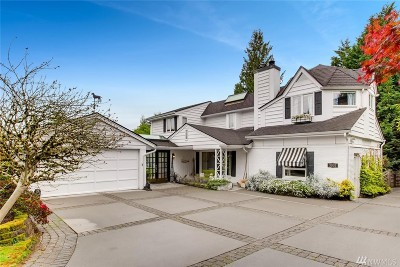 Clyde Hill Single Family Home For Sale: 3037 92nd Ave NE