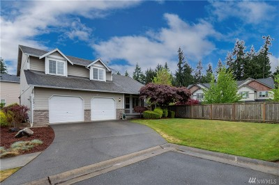 Puyallup Single Family Home For Sale: 17211 117th Av Ct E