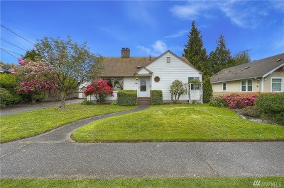 Puyallup Single Family Home For Sale: 1314 W Pioneer