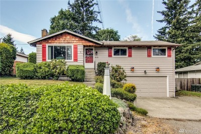Kent Single Family Home For Sale: 4618 S 254th St