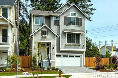 Bothell Single Family Home For Sale: 3 197th Place SW #13