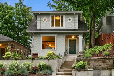 Seattle Single Family Home For Sale: 522 30th Ave