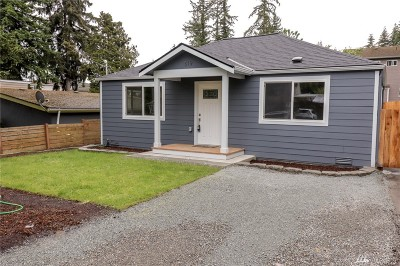 Seattle Single Family Home For Sale: 819 NE 125th St