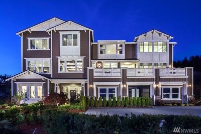 Kirkland Single Family Home For Sale: 11823 NE 45th (Homesite 9) St