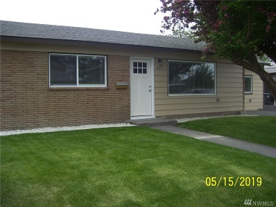Moses Lake WA Single Family Home For Sale: $185,700