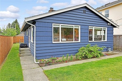 Seattle Single Family Home For Sale: 721 N 104th St