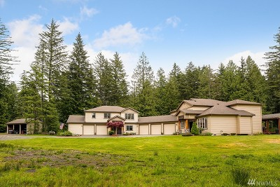 North Bend, Snoqualmie Single Family Home For Sale: 37423 SE 191st St