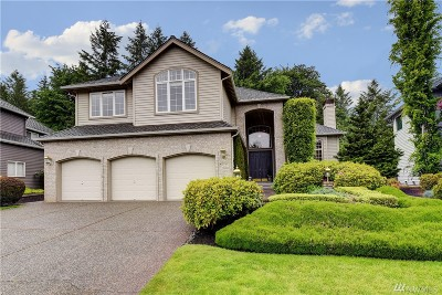 Sammamish Single Family Home For Sale: 27172 SE 25th Place