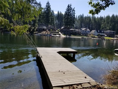 Grapeview Residential Lots & Land For Sale: 5390 E Mason Lake Dr W