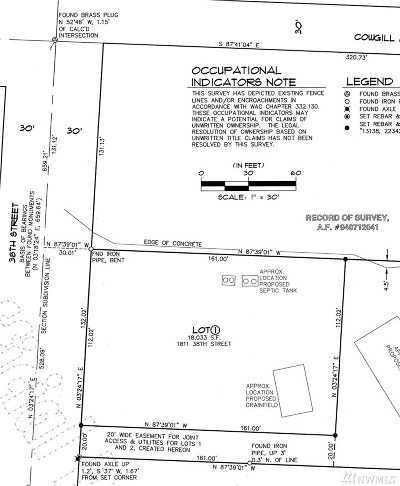 Bellingham Residential Lots & Land For Sale: 38th St