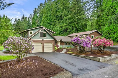 Woodinville Single Family Home For Sale: 7429 Marwood Place