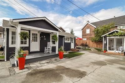 Seattle Single Family Home For Sale: 4417 SW Dawson St
