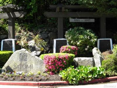 Bellevue Condo/Townhouse For Sale: 5501 Lakemont Blvd SE #102