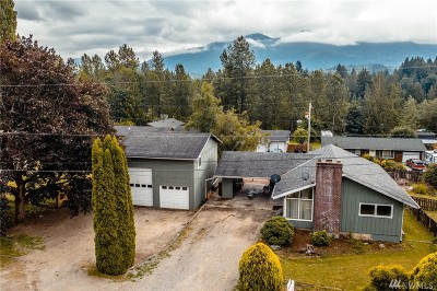 Skagit County Single Family Home For Sale: 45216 Duffy St