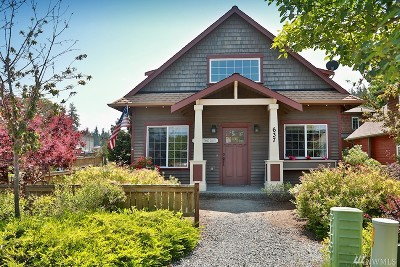 Langley Single Family Home Pending: 637 Arbor Crest